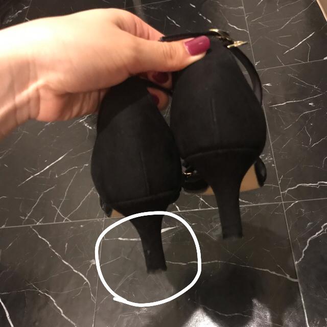 Le Talon(ルタロン)のLe Talon アンクルストラップサンダル ブラック レディースの靴/シューズ(サンダル)の商品写真