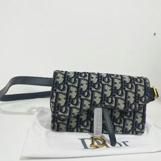 ディオール(Dior)の超美品Dior Saddle レディース ウエストポーチ 新品 ファッション(ボディバッグ/ウエストポーチ)