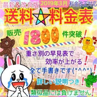 送料料金表(^^)(オーダーメイド)