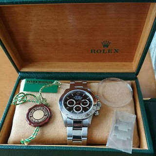 ROLEX - ロレックス デイトナ 116520 黒文字盤 P番 希少