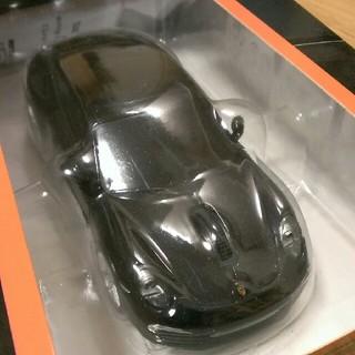 Porsche - ポルシェ カレラ911 ブラック  無線マウス  新品未使用