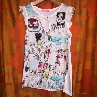 アッシュペーフランス(H.P.FRANCE)の☆MIRIAM OCARIZ☆フリルカットソー Tシャツ(Tシャツ(半袖/袖なし))