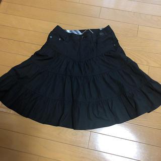 バーバリーブルーレーベル(BURBERRY BLUE LABEL)のバーバリー ブルーレーベル   ティアード スカート(ひざ丈スカート)