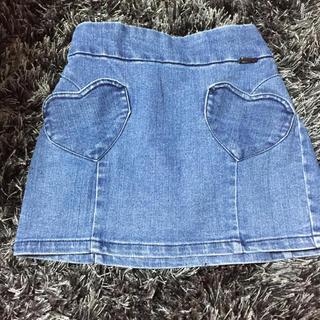 ジェニィ(JENNI)のジェニィ デニムスカート 130(スカート)