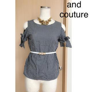 アンドクチュール(And Couture)のand couture(シャツ/ブラウス(半袖/袖なし))