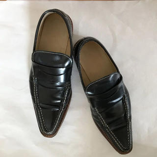コムデギャルソン(COMME des GARCONS)のトリココムデギャルソン ポインテッドシューズ(ローファー/革靴)