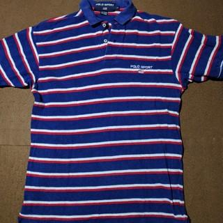 ラルフローレン(Ralph Lauren)のPOLO SPORT/ポロスポーツ 半袖ポロシャツ メンズS ブルー(ポロシャツ)