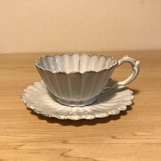 アッシュペーフランス(H.P.FRANCE)のAstier アスティエ マーガレット ティーカップ ソーサー (グラス/カップ)