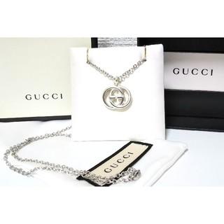 Gucci - GUCCI/グッチ インターロッキングG ネックレス/ペンダント GGモチーフ