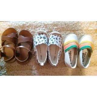 ベビーギャップ(babyGAP)のbabygap14cm夏のお靴セット新品未使用入り(スニーカー)