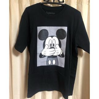 Disney - スペリオールsuperiorミッキーDisney ナンバリングシャツ