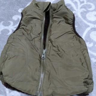 ムジルシリョウヒン(MUJI (無印良品))の無印良品 ダウンベスト キッズ80センチ(ジャケット/コート)