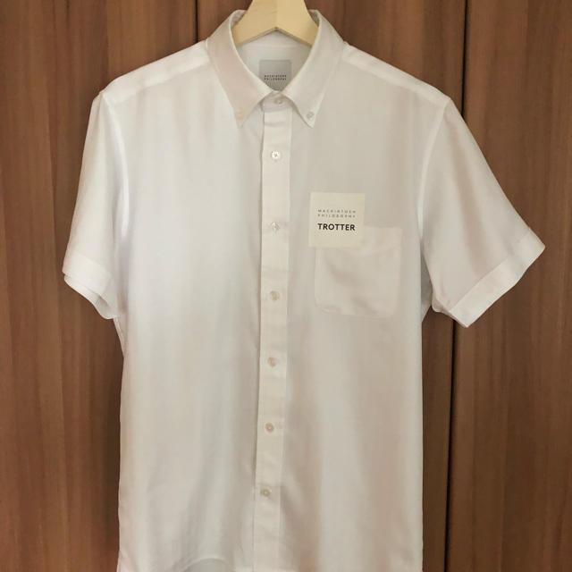 MACKINTOSH PHILOSOPHY(マッキントッシュフィロソフィー)のトロッター 半袖シャツ 2色セット(白、水色) メンズのトップス(シャツ)の商品写真