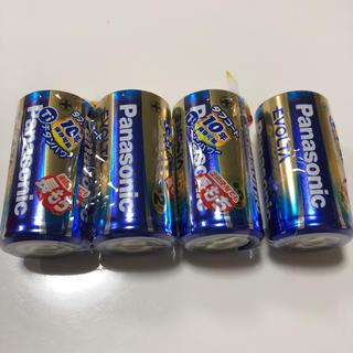 パナソニック(Panasonic)のPanasonic エボルタ単2形×4☆456円!!(日用品/生活雑貨)