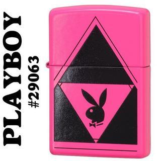 ジッポー(ZIPPO)のzippo(ジッポーライター) プレイボーイ neon-pink ネオンピンク(タバコグッズ)