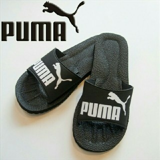 プーマ(PUMA)の新品 プーマ デザイン サンダル ブラック 27センチ 送料無料 黒 PUMA(サンダル)