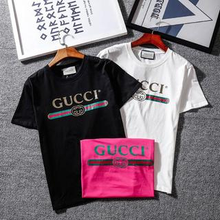 Gucci - [2枚5000円送料込み] Gucci  Tシャツ 半袖 男女兼用