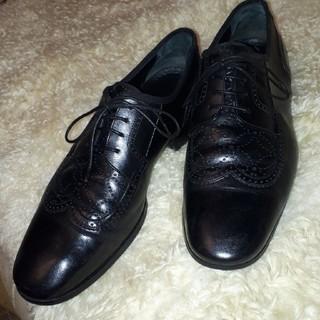 ルイヴィトン(LOUIS VUITTON)のルイヴィトン黒革靴❤(ドレス/ビジネス)