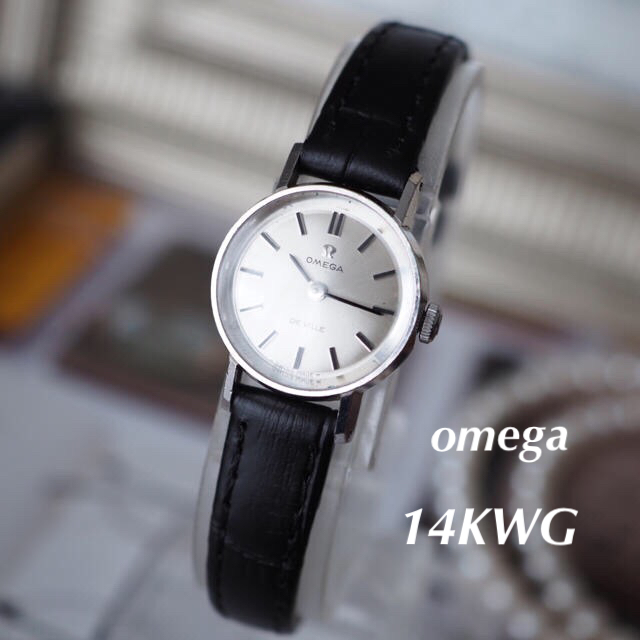 OMEGA - OH済✨美品☆オメガ 14金無垢 カットガラス☆トゥモローランド ティファニーの通販