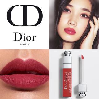 ディオール(Dior)の【新品箱なし】万能レッド ディオール リップティント #661 ナチュラルレッド(口紅)