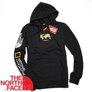 THE NORTH FACE - ノースフェイス×ナショナルジオグラフィック パーカ S 海外限定