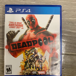 PlayStation4 - DEADPOOL PS4用 北米輸入版