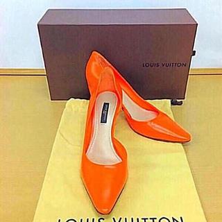 ルイヴィトン(LOUIS VUITTON)の正規品 パンプス(正規箱、正規保存袋付き)送料込み(ハイヒール/パンプス)