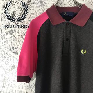 フレッドペリー(FRED PERRY)の激レア フレッドペリー FLED PERRY ポロシャツ 刺繍ロゴ(ポロシャツ)