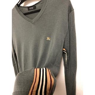 バーバリーブラックレーベル(BURBERRY BLACK LABEL)のバーバリーブラックレーベル ノバチェック ニット セーター(ニット/セーター)