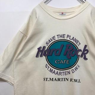 ハードロックカフェ Tシャツ ビンテージ hard rock cafe  90s