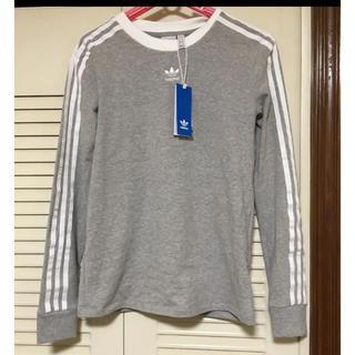 アディダス(adidas)のadidasOriginals 3ストライプTシャツ 長袖 ロンT 送料無料(Tシャツ(長袖/七分))