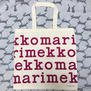 マリメッコ(marimekko)のレアカラー  マリメッコ    ノベルティ  ロゴ  トート(エコバッグ)