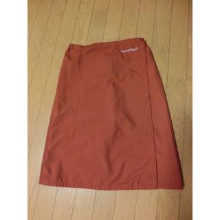 mont bell - 山スカート レインラップスカート Mサイズ テラカッタ