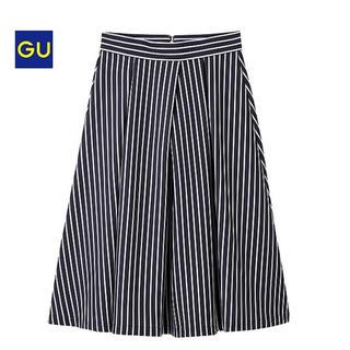 GU - ストライプスカートSサイズ