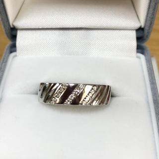 k18WGダイヤリング(リング(指輪))