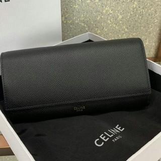 celine - 【新品】CELINE ラージ フラップウォレット 長財布