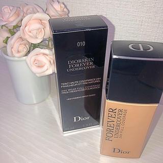 ディオール(Dior)の新品 dior スキンフォーエバー アンダーカバー 010 (ファンデーション)