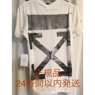 OFF-WHITE - 24時間以内発送 off-white オフホワイト tシャツ ロゴ XS