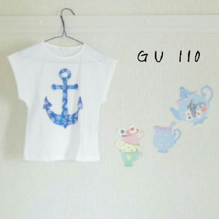 GU - ☆新品未使用☆GU 半袖Tシャツ(サイズ110)