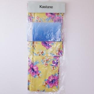 カスタネ(Kastane)の期間限定セール   【新品】浴衣&帯セット   イエロー(浴衣)