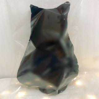 新品未使用 海外インポートクッション 猫クッション ブラック 抱き枕