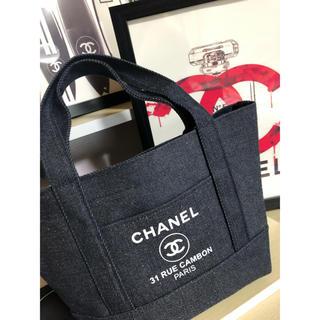 CHANEL - CHANEL デニム トートバッグ マザーズバッグ シャネル トートバッグ