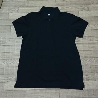 ユニクロ 黒 ポロシャツ(ポロシャツ)