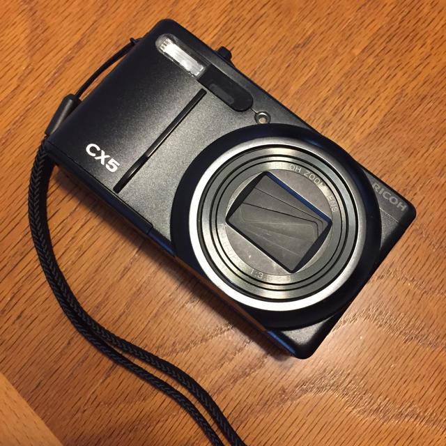 RICOH(リコー)のRICOH リコー CX5 スマホ/家電/カメラのカメラ(コンパクトデジタルカメラ)の商品写真