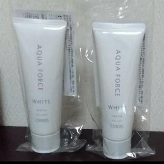 ORBIS - オルビス アクアフォース ホワイト 2個セット 洗顔