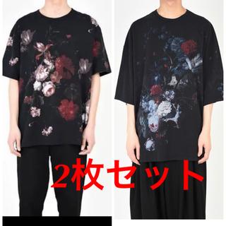 LAD MUSICIAN - 新品 LAD ラッドミュージシャン 花柄 スーパービッグTシャツ 3枚セット