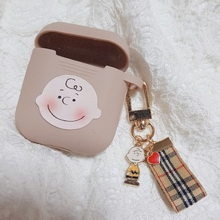 SNOOPY - AirPods ケース エアーポッズ カバー キーリング