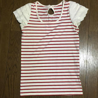 しまむら - 袖フリルシャツ