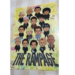 ザランページ(THE RAMPAGE)の居酒屋えぐざいる RAMPAGEクリアファイル2枚セット(ミュージシャン)