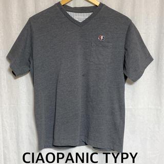 チャオパニックティピー(CIAOPANIC TYPY)の美品 CIAOPANIC TYPY 半袖ポケットTシャツ (Tシャツ/カットソー(半袖/袖なし))